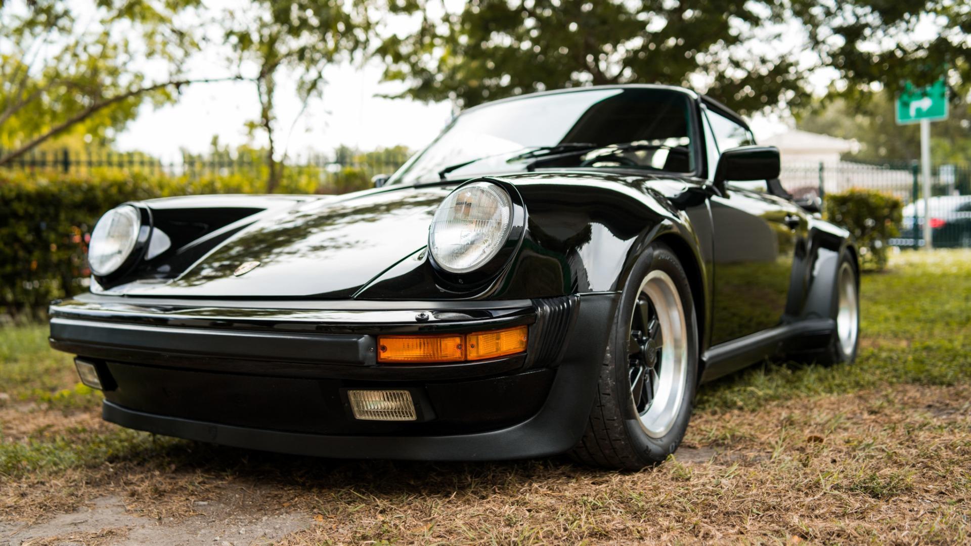 Used 1989 Porsche 911 Carrera Turbo