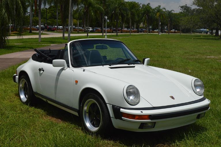Used Used 1984 Porsche 911 Carrera for sale $41,999 at Vertex Auto Group in Miami FL