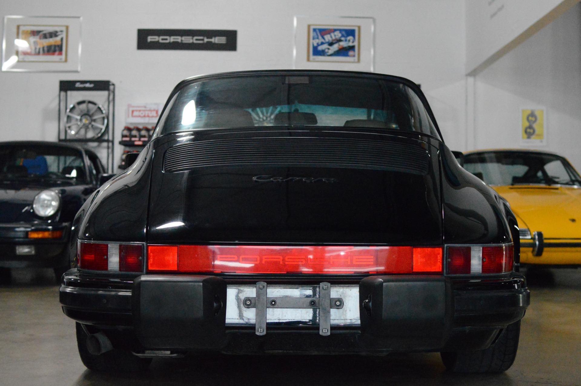 Used 1989 Porsche 911 Carrera