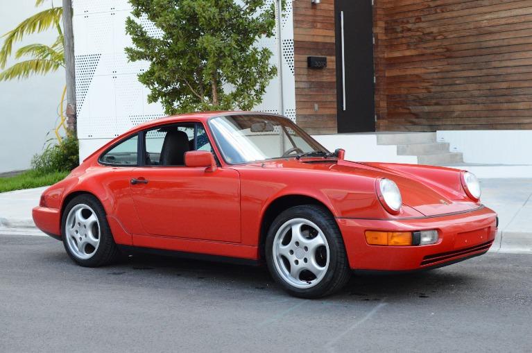 Used Used 1989 Porsche 911 Carrera 4 for sale $69,999 at Vertex Auto Group in Miami FL