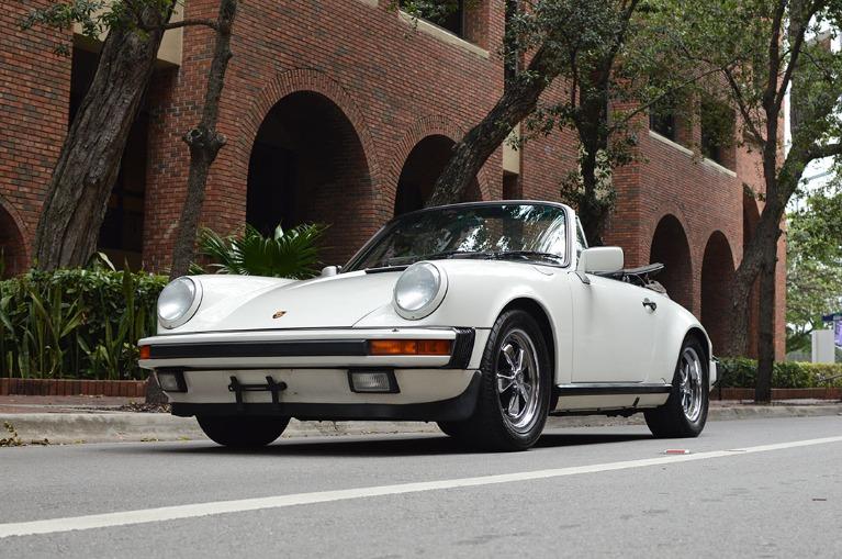 Used Used 1988 Porsche Carrera Cabriolet for sale $52,999 at Vertex Auto Group in Miami FL